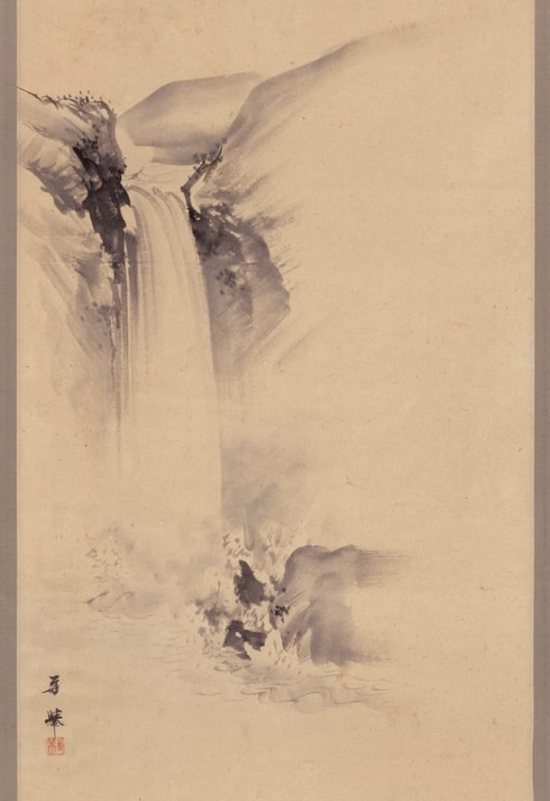 Hanging Scroll by Kakyo/ Rengestu