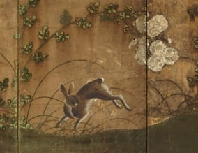 Edo Period 6-Panel Folding Screen